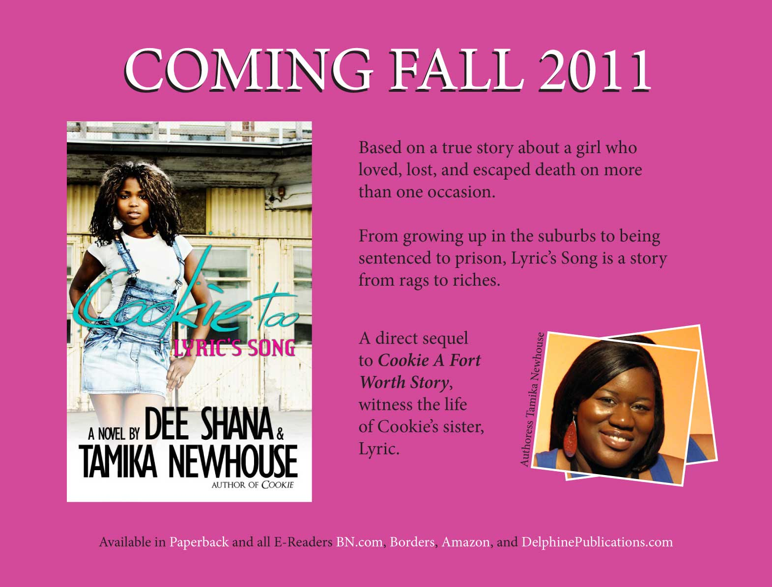 cookie too official promo flyer tamika newhouse s passionate spot