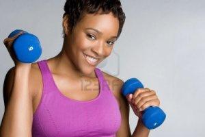 5668619-black-girl-exercising